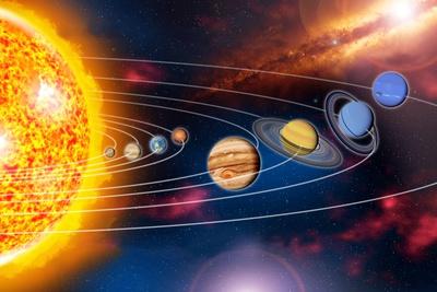 Solar System Planets Photographic Print by Jose Antonio