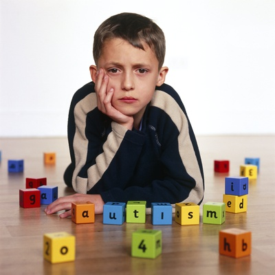 Autistic Boy Premium Photographic Print by Kevin Curtis