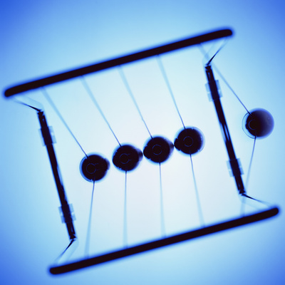 Newton's Cradle Photographic Print by Kevin Curtis