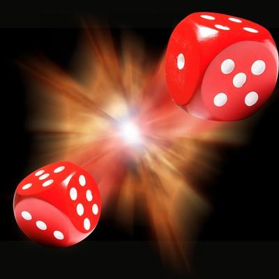Big Bang Probability, Conceptual Image Premium Photographic Print by Victor De Schwanberg