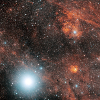 Deneb And Emission Nebulae Premium Photographic Print by Davide De Martin