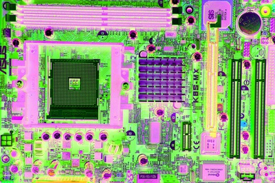 Circuit Board Photographic Print by Victor De Schwanberg