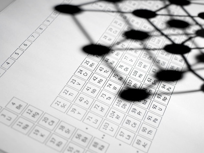 Periodic Table Photographic Print by Tek Image