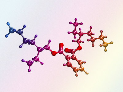 Di(2-ethylhexyl) Phthalate Photographic Print by Dr. Mark J.