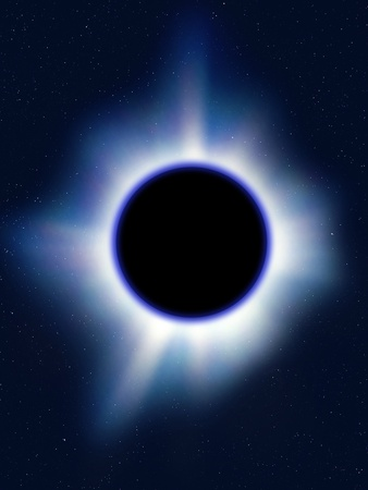 Black Hole Photographic Print by Richard Kail