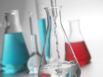 Laboratory Glassware Photographic Print by Tek Image