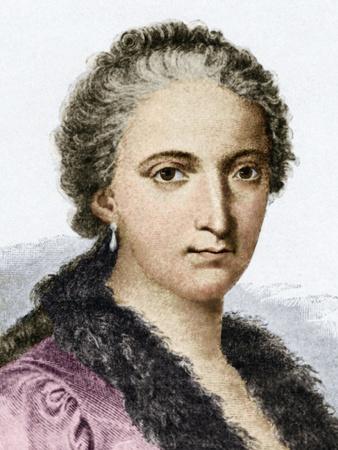Maria Agnesi, Italian Mathematician Premium Photographic Print by Sheila Terry