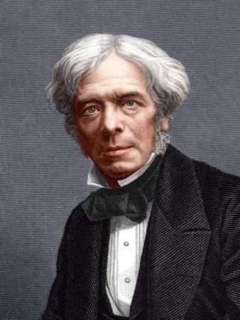 Michael Faraday, English Chemist Fotografisk tryk af Sheila Terry