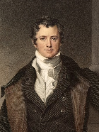 Sir Humphry Davy Portrait Chemis Photographic Print by Paul Stewart