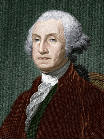 George Washington, First US President Photographic Print by Sheila Terry
