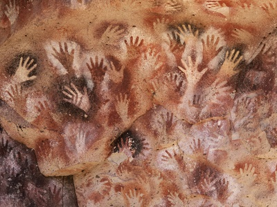 Cave of the Hands, Argentina Photographic Print by Javier Trueba