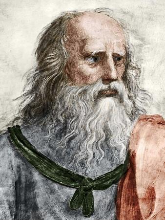 Plato (c.428 BC-c.347 BC) Photographic Print