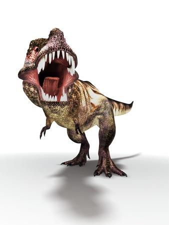 Tyrannosaurus Rex, Artwork Photographic Print