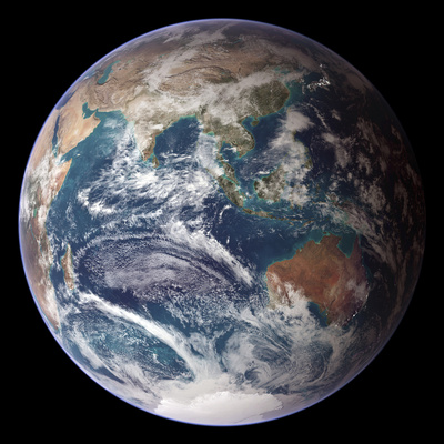 Blue Marble Image of Earth (2005) Premium Photographic Print