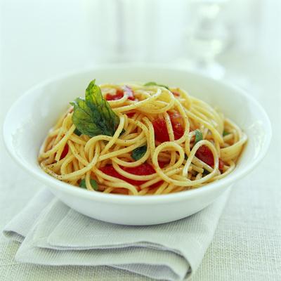 Spaghetti Premium fototryk af David Munns