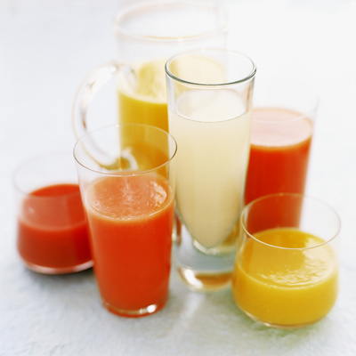 Fruit Juices Photographic Print by David Munns