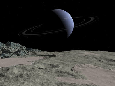 Neptune From Triton, Artwork Photographic Print by Walter Myers
