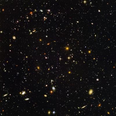 Hubble Ultra Deep Field Galaxies Premium-Fotodruck