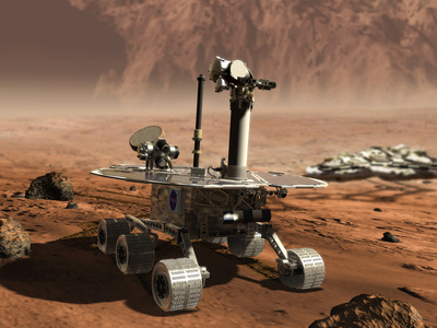 Mars Opportunity Rover Photographic Print by  NASA