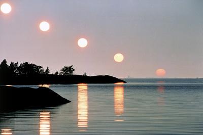 Sunset Photographic Print by Pekka Parviainen
