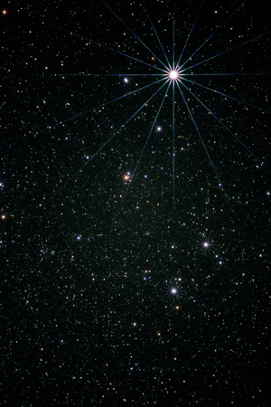 Optical Image of the Constellation of Lyra Photographic Print by Pekka Parviainen