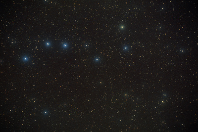 Constellation of Ursa Major, the Great Bear. Photographic Print by Pekka Parviainen