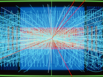 Simulation of Higgs Boson Production Photographic Print by David Parker