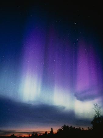 Aurora Borealis Premium Photographic Print by Pekka Parviainen