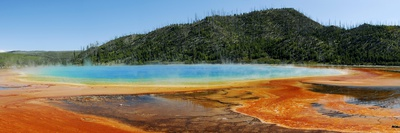 Hot Springs At Yellowstone National Park Photographic Print by Pekka Parviainen