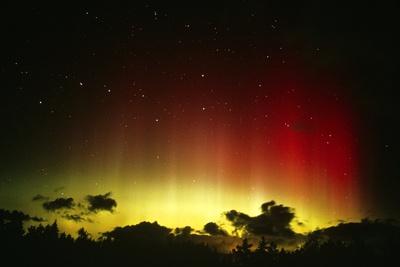Aurora Borealis Or Northern Lights And Ursa Major Photographic Print by Pekka Parviainen