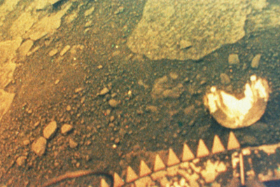 Venus Surface From Venera 13 Photographic Print by Ria Novosti