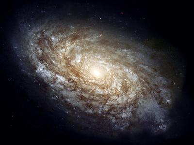 Spiral Galaxy NGC 4414 Photographic Print by  NASA