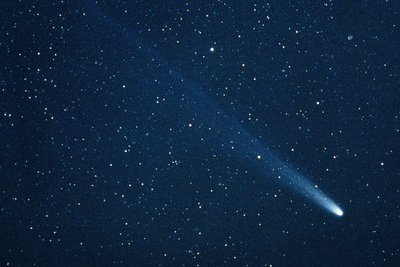 Comet Hyakutake on 13.3.96 Photographic Print by John Sanford