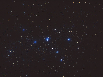 Cassiopeia Constellation Photographic Print by John Sanford