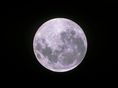 Full Moon Photographic Print by John Sanford