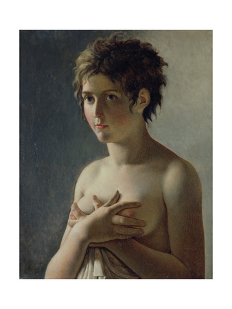 Portrait of a Young Girl, 1812 Giclee Print by Baron Pierre-Narcisse Guerin