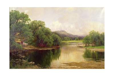 The Golden Vale Giclee Print by John Clayton Adams