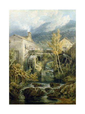 The Old Mill, Ambleside Giclee Print by J. M. W. Turner