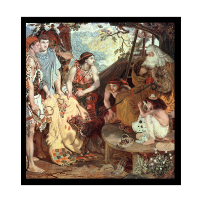 Jacob and Joseph's Coat, 1871 Giclee Print by Ford Madox Brown