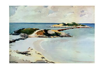 Gallows Island Giclee Print by Winslow Homer