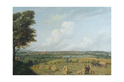 View of Preston from Penwortham Hill, C.1821 Giclee Print by John Jenkinson