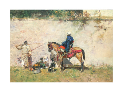 Moroccans Giclee Print by Mariano Fortuny y Marsal