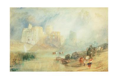 Kidwelly Castle, Wales Giclee Print by J. M. W. Turner