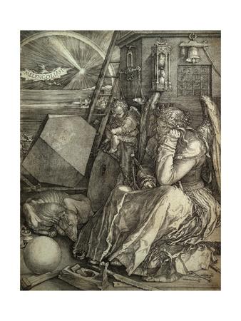Melancolia Giclee Print by Albrecht Dürer