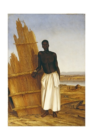 Conde - a Native of Tete Giclee Print by Thomas Baines