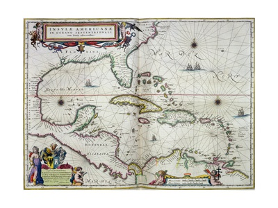 Caribbean and Central America: from the Atlas
