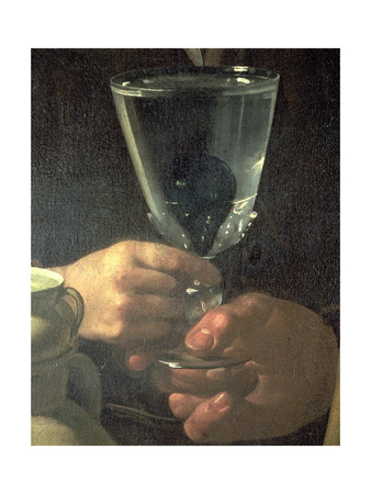 Waterseller of Seville (Detail) Giclee Print by Diego Rodriguez de Silva y Velazquez