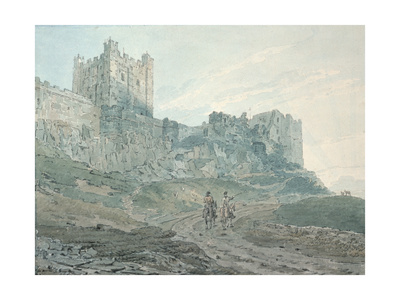 Bamburgh Castle, Northumberland, 18th Century Giclee Print by Thomas Girtin