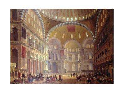 The Blue Mosque Giclee Print by Eva Gonzales