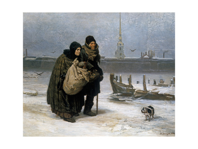 From Lodging to Lodging, 1876 Giclee Print by Victor Mikhailovich Vasnetsov